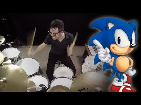 Vadrum Meets Sonic The Hedgehog (Drum Video)