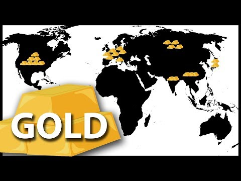 Top 10 Countries With Highest Gold Reserves in the World