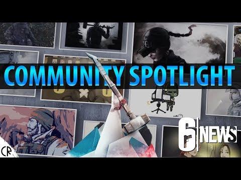 Community Spotlight - Six Invitational - 6News - Tom Clancy's Rainbow Six