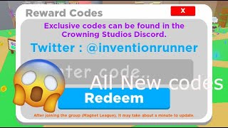 All Codes In Magnet Simulator! Update 17  Roblox