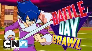Exchange Student Zero | Battle Day Brawl Playthrough | Cartoon Network