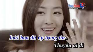 Karaoke Canh Hoa Ep Trong Tim Anh Tien