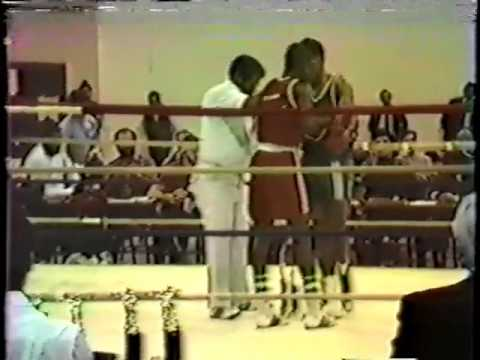 Mark Lanton Fights: Boxing at Green Haven State Prison Upstate New York with Jesse Lanton