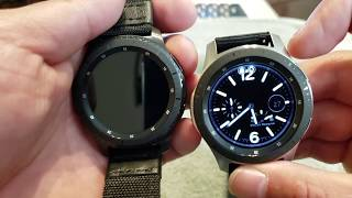 Samsung Galaxy Watch and S3 Frontier review