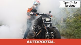 Harley-Davidson Fat Bob 2018 - Road Test Review - Autoportal