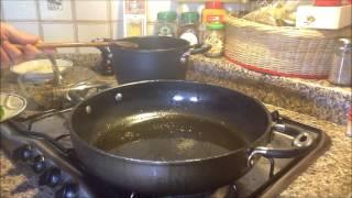 Spaghetti Con Melanzane Fritte, Formaggi E Basilico