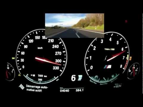 BMW M5 acceleration 0317 kmh  YouTube