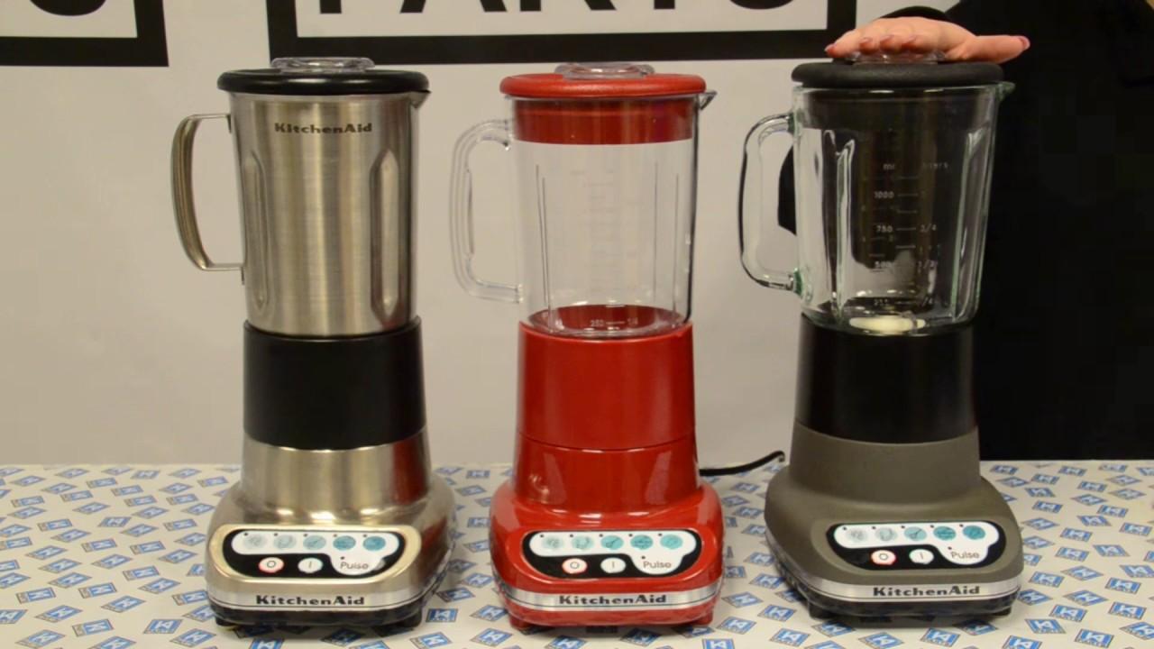 kitchenaid blender jars youtube