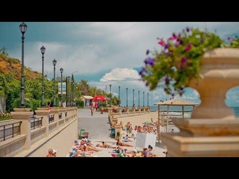 ОДЕССА море. Пляж на 16 ст. Фонтана! ЛИВЕНЬ НА ПЛЯЖЕ