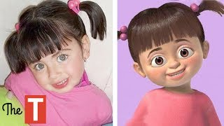 10 Kids Who LOOK LIKE CARTOON CHARACTERS thumbnail