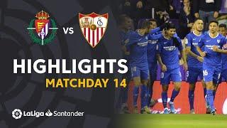 Highlights Real Valladolid vs Sevilla FC (0-1)