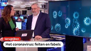 TERUGKIJKEN: Speciale uitzending over het coronavirus met vragen van mensen thuis