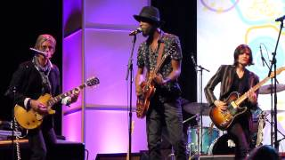 AUSTIN MUSIC AWARDS 2015 Charlie Sexton, Eve Monsees, Gary Clark, Jr.