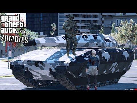 GTA 5|ZOMBIES Vs SOLDADOS #5 - LA NUEVA ORGANIZACION  |EdgarFtw