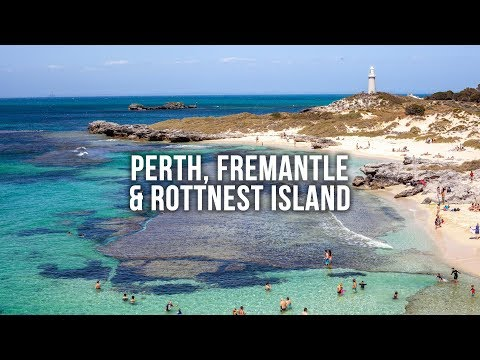 PERTH AUSTRALIA: Fremantle And Quokka's On Rottnest Island - A Long Weekend In Western Australia!