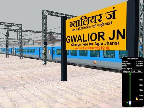 12002/New Delhi - Bhopal Habibganj Shatabdi Express || IR In MSTS Open Rail