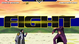 Awesome Mugen Federation 703 Admiral Aokoji aka Kuzan vs Another Iori