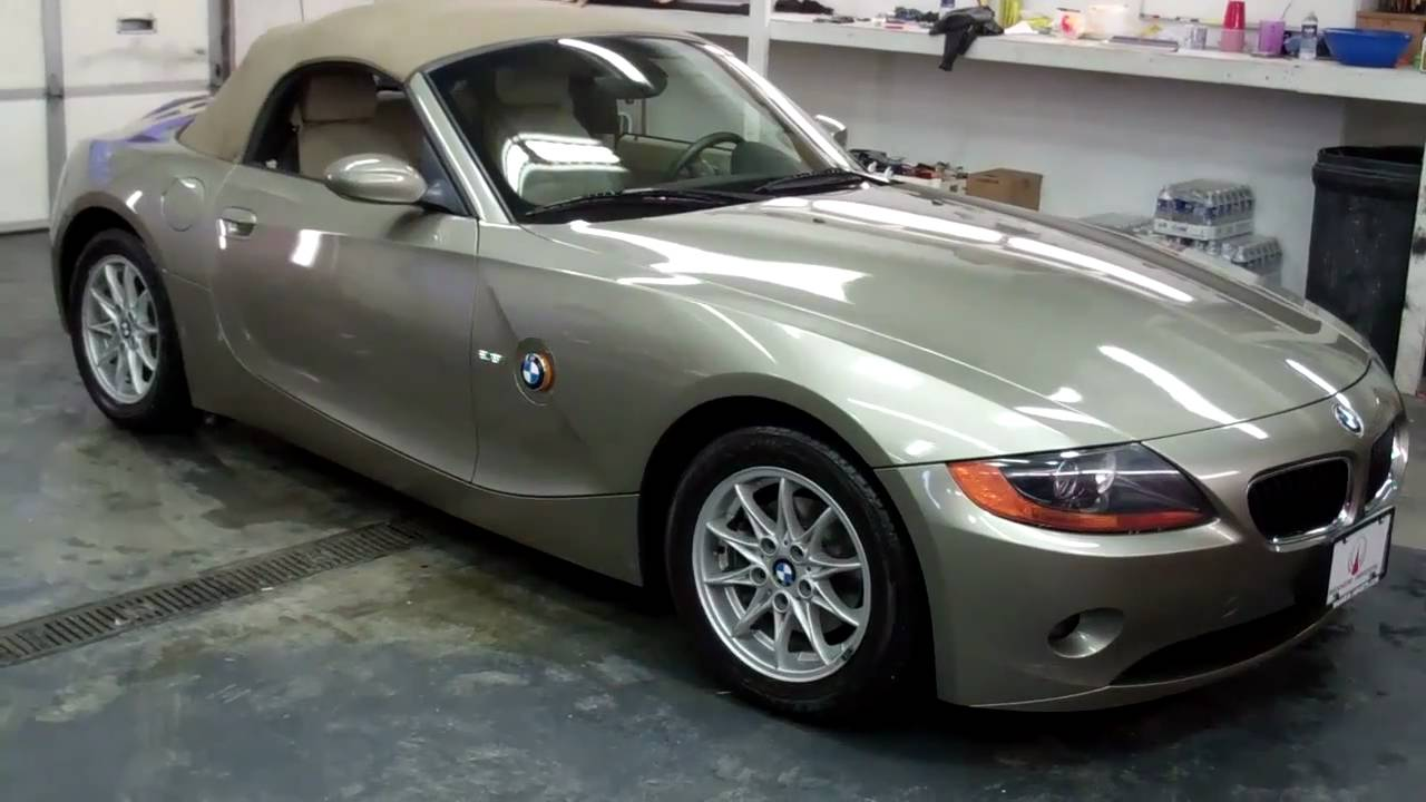 2004 Bmw Z4 2 5i Premium Package Manheim Imports Youtube