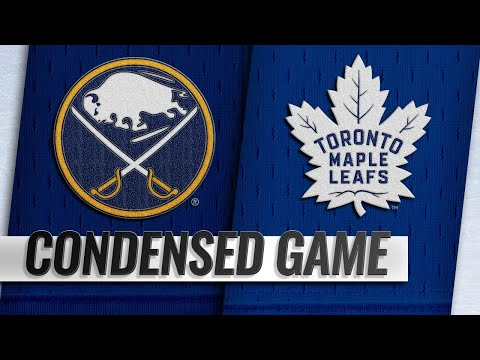 09/21/18 Condensed Games: Sabres @ Maple Leafs