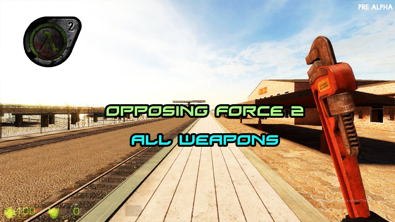 Download Opposing Force 2 All Weapons