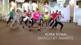 ALINA DUMA: MANGO by AMARFIS (MERENGUE, Zumba Fitness choreography)