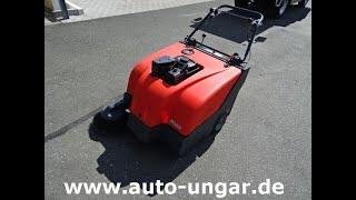 Youtube-Video Hako 800V  Sweepmaster Hamster Benzin