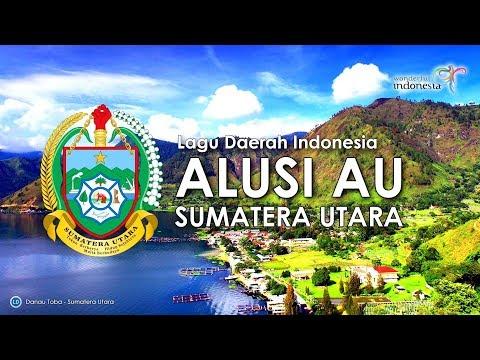 Alusi Au - Lagu Daerah Sumatera Utara (Karoke, Lirik Dan Terjemahan)