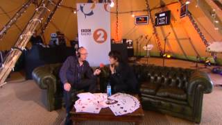 Jamie Cullum backstage at Radio 2 Live in Hyde Park 2013