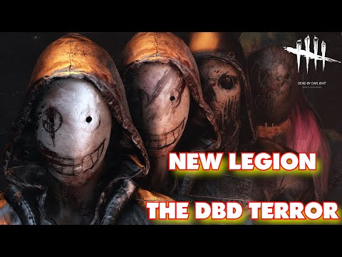 LEGION THE NEW DBD GOD!!!! | Dead By Daylight | Legion Gameplay