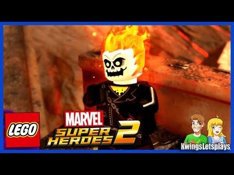 LEGO Marvel 2 Free Roam Adventures Part 24 Ghost Rider Quest