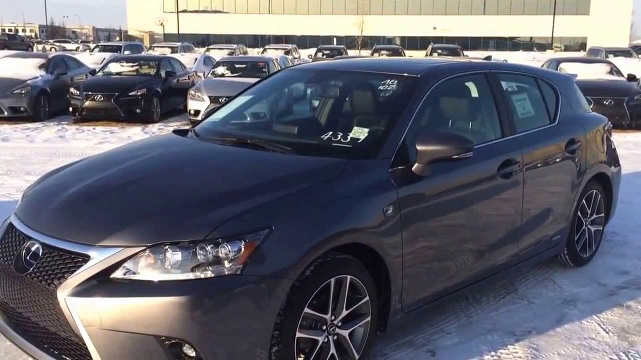 2014 lexus ct 200h f sport review youtube