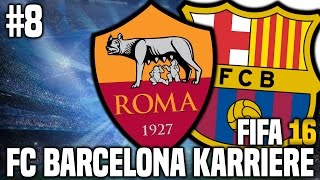 FIFA 16 Karrieremodus #8 - Champions League! | FIFA 16 Karriere FC Barcelona [S1EP8]