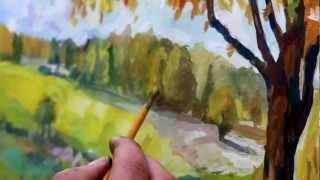 Золотая Осень - RisuemLegko.ru
