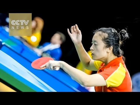 Paralympic table tennis player, who lost her leg in 2008 Wenchuan Earthquake, tells her story