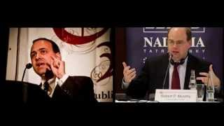 Chicago school  vs  Austrian economics, Tom Woods & Bob Murphy   September 2014