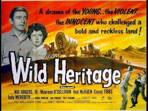 "Rod McKuen as actor in ""Wild Heritage"" (1958) [complete movie]"
