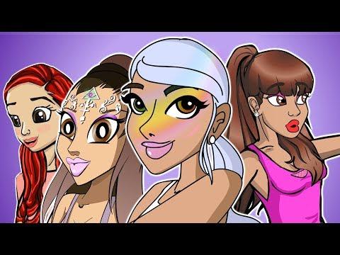 Ariana Grande Cartoons (PARODY COMPILATION)