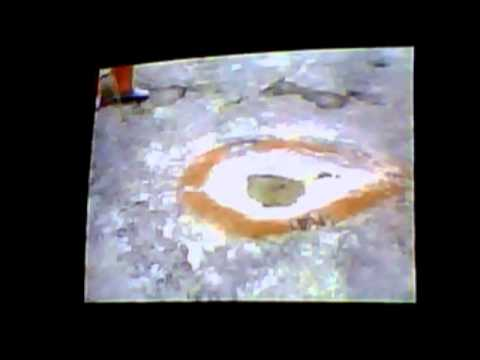 Spirit Body Footprint Proof In Stone and Dino Prints