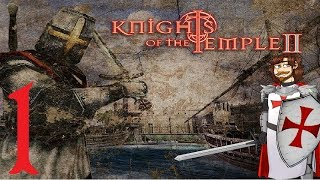 Let's Play Knights of The Temple II Part 1: Cursed Town