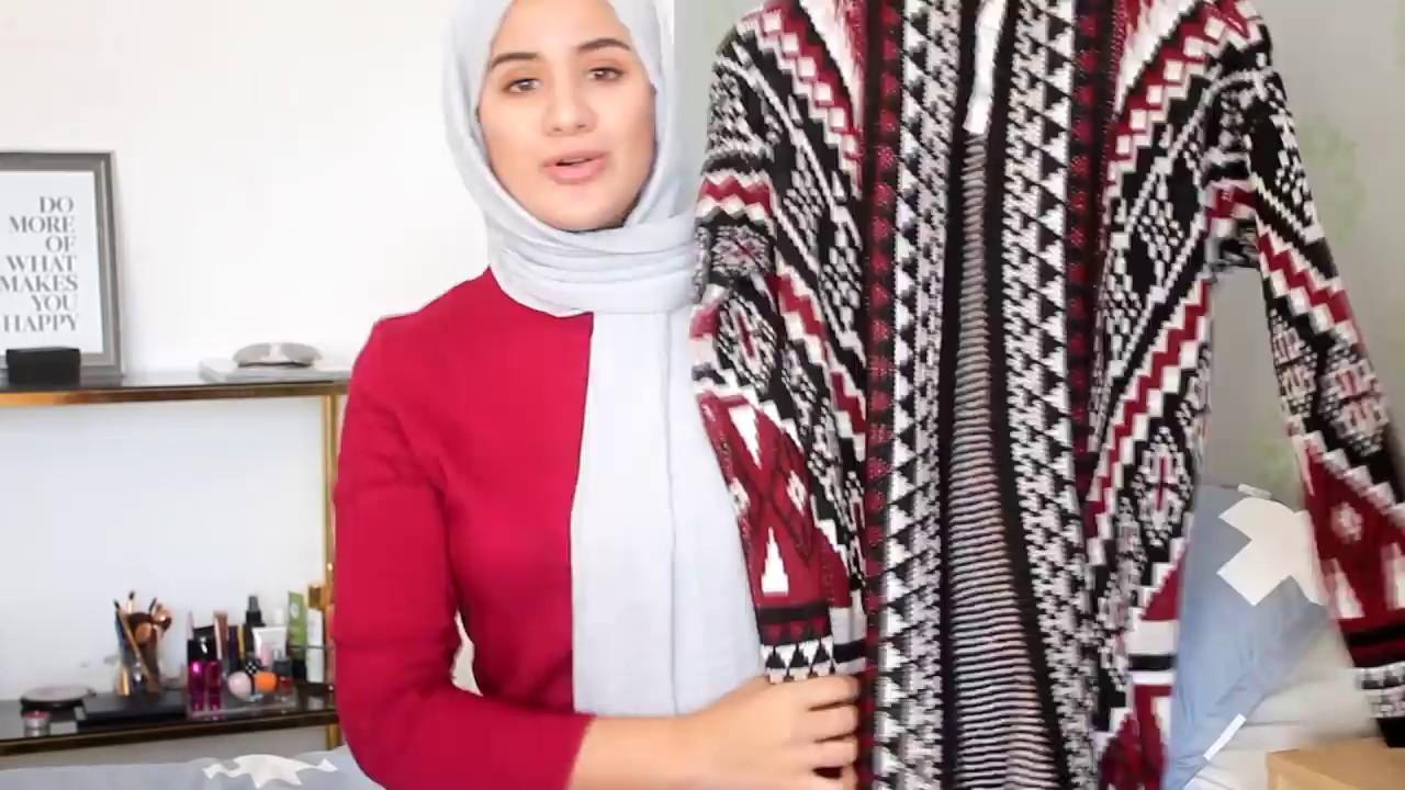 60b4b80f0 اشريت ملابس للمحجبات من موقع تركي (الخريف و الشتاء) Azyae Maroc ...