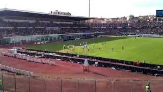 Catania-Catanzaro 4-0 gol visto dalla curva sud
