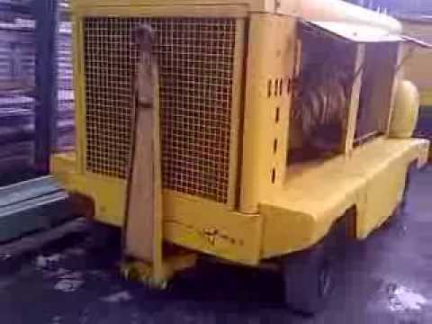 Ingersoll Rand Portable Compressor Xhp 750 Cat In Running