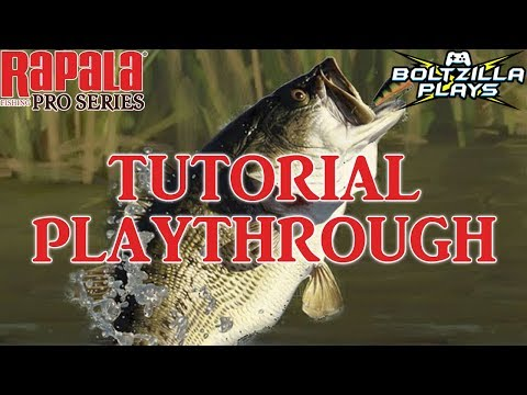 Rapala Fishing Pro Series: Tutorial