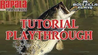 Rapala Fishing Pro Series: Tutorial