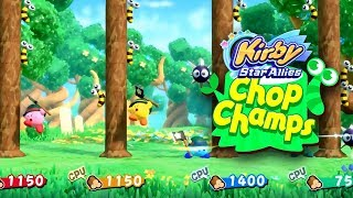 Kirby Star Allies | Chop Champs Gameplay