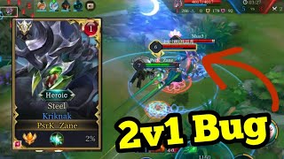 Make ADC's Feed With Kriknak | Conqueror | Arena Of Valor / ROV / Liên Quân / 傳說對決 / 펜타스톰