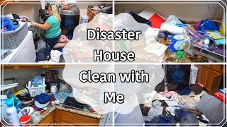 EXTREME CLEAN WITH ME l DISASTER HOUSE l EXTRA LONG