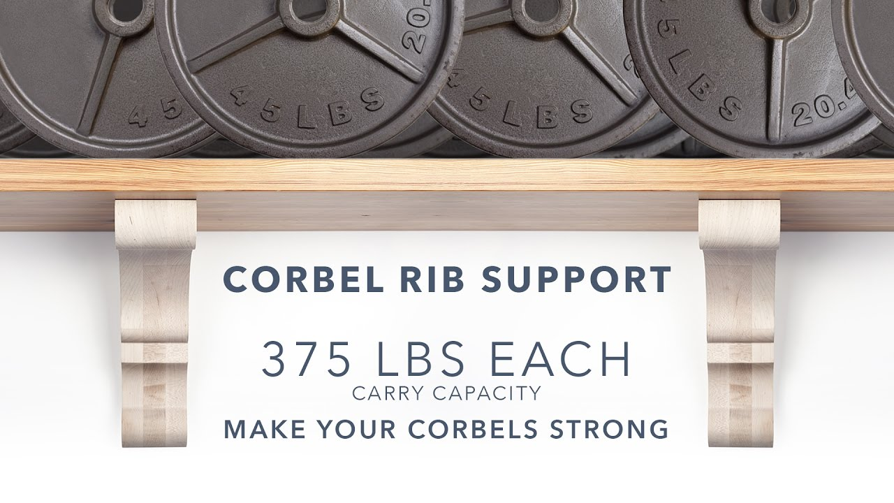 How To Install The Strongest Wood Corbel System