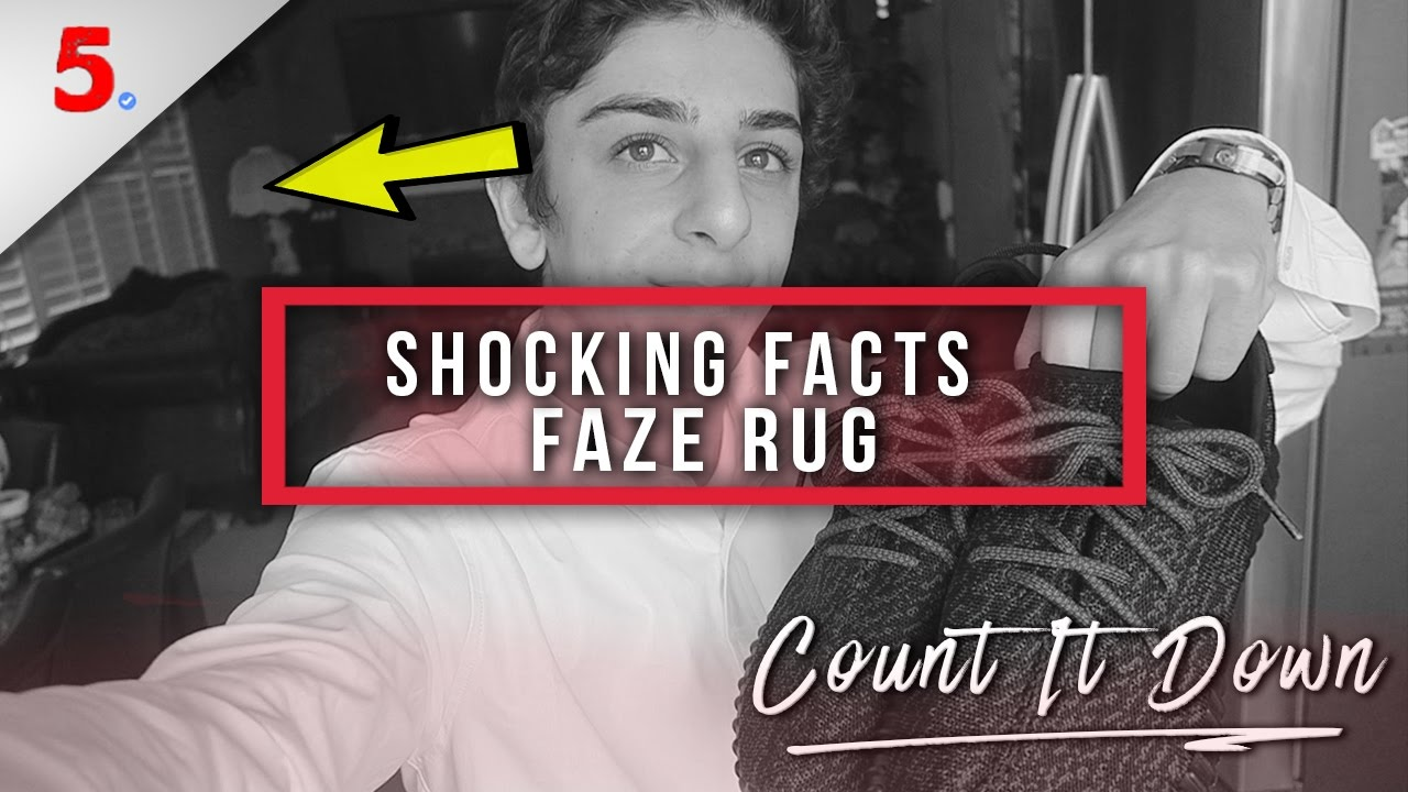 5 Supreme Facts About Faze Rug Inc Faze Rug Ghosts