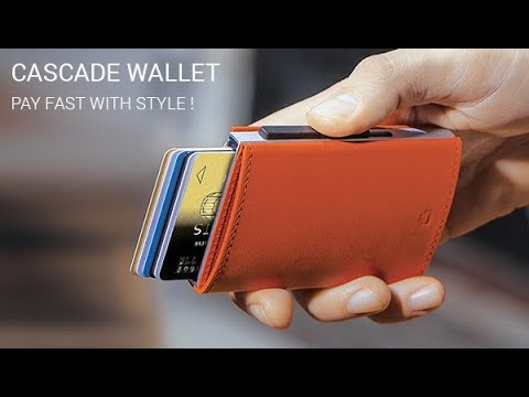 CASCADE WALLET - Pay fast with style